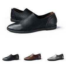 Retro Men Driving Moccasins Shoes Pumps Slip on Loafers Flats Breathable Comfy L