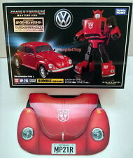 Takara Transformers Masterpiece MP-21R MP-21 R BUMBLE BEE RED BODY Figure+COIN