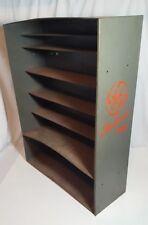 Vintage GE General Electric Radio / TV  repairman Tube Case Caddy Storage Box