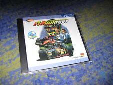 F1 Manager Professional PC Rarität komplett DEUTSCH KULT Software 2000