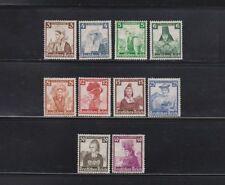 Briefmarken aus dem deutschen Reich (1933-1945) mit Falz als Satz