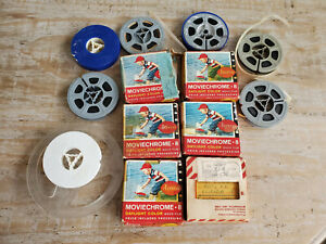 Vintage Lot of Moviechrome 8mm Home movies - Used