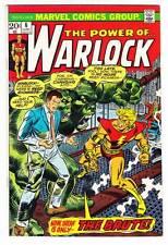 THE POWER OF WARLOCK #6 - 1973 Marvel - Roy Thomas & Bob Brown - F/VF