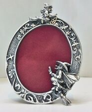 WHOLESALE... Halloween/ Witch/ Mini Witch Pewter Picture Frame (LOT 5)