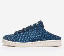 Adidas Stansmith Mule Blue All Size Authentic Leather Men's Originals - FX2539