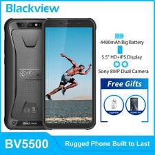 Blackview BV5500 2GB+16GB Smartphone ohne Vertrag IP68 Wasserdicht Handy Face ID