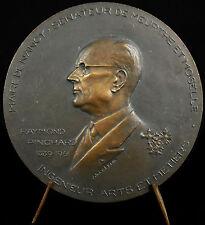 medal Raymond Pinchard mayor of Nancy want to do something aimer 1961 Coeffin