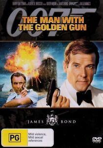James Bond 007 - The Man With The Golden Gun - Rare DVD Aus Stock -Excellent