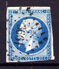 FRANCE 14A ob PC 3661 VITRY-le-FRANCOIS, MARNE. VARIETES: point blanc cadre E +