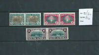 SOUTH AFRICA 1939 250th ANNIVERSARY OF HUGUENOT LANDING SET IN PAIRS MINT