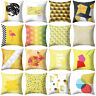 FJ- CN_ Abstract Geometry Printed Throw Pillow Case Sofa Cushion Cover Home Deco