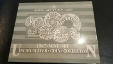 1987 australian mint 7 Coin Uncirculated Set