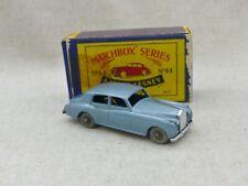Matchbox Moko Lesney  N° 44 Rolls Royce Silver Cloud N/Mint avec Boite !