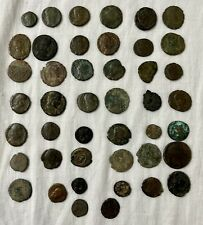 Lot of 44 Roman Coins Low Grade 79.87g Total