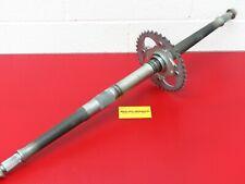 CRU Rear Axle Hub Castel Crown Nut 20mm x 1.0 Compatible with Honda 1998-04 Trx 450 Foreman