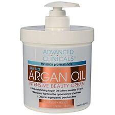 Advanced Clinicals Spa  Pure Argan Oil Intensive Beauty Cream Anti-aging Cream