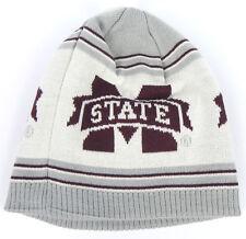 MISSISSIPPI STATE ST. BULLDOGS NCAA ADIDAS UNCUFFED WINTER KNIT CAP HAT NEW!