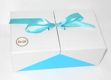 Original Steiff Zubehör Geschenke Verpackung Karton zum aufklappen mit Schleife