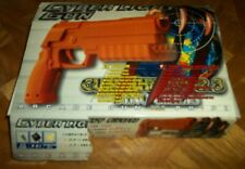 Used Cyber Light Gun in original box for PS2 Guncon/Guncon 2 USB compatible NM