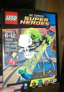 LEGO DC SUPER HEROES BRAINIAC ATTACKS, NEVER OPENED, RETIRED, 179 PCS, AGE 6-12