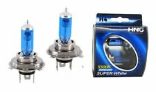 2x H4 12V 60/55W Super White 472 Xenon Gas Filled Long Life Clear Bulb Long Life