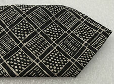 Marks and Spencer tie Black and grey spotty check Machine washable vintage 1980s