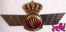 Large Hat Pin International Spain Spanish Jump Wings Jacket Epaulet paratrooper