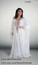 DUBAI KAFTAN ABAYA JALABIYA KHALEEJI WEDDING