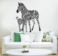 Zebra Wall Art Vinyl Transfer Decal Sticker Mural Decor