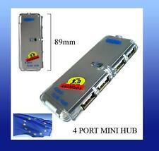 mini HUB de 4 puertos USB cuadrado para ordenador pc 2p portatil laptop