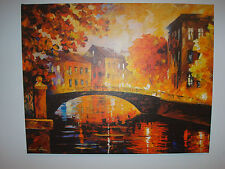 "LEONID AFREMOV ""THE RIVER OF MEMORIES"" LIMITED EDITION GICLEE"