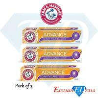 Arm & Hammer Toothpaste Advanced Cavity Care Fresh Mint Gently Whitens x 3