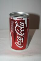 Vintage Coca Cola MICHIGAN 12 oz Coke Can Red & White with Bank Top