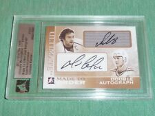 11-12 ITG Ultimate MADE TO ORDER Mario LEMIEUX Alexander OVECHKIN 1/1 Dual Auto