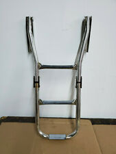 Garelick EEz-In Boat STAINLESS STEEL 3 STEP BOAT Folding LADDER INV #2