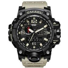 SMAEL Multi-function Digital Waterproof Date Military Quartz Wristwatches mzus