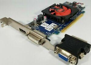 Dell AMD HD 7470 1GB DVI DisplayPort & VGA Adapter Windows 10 Video Card