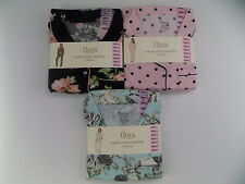 Women's Flora Nikrooz Long Sleeve Notch Collar PJ Set  2 piece pajamas  Small