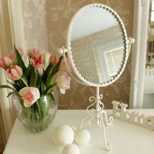 Espejos decorativos de dormitorio de metal para el hogar