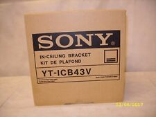 Sony - YT-ICB43V - Flush Mount Kit, SSC-CD43/SSC-MD43 Series Surveillance Camera