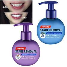 New Baking Soda Toothpaste Intensive Stain Remover Teeth Whitening Press Type UK