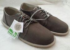 NWT! Sanuk Mens Vista Loafers Seakers Shoes Brindle Sz 12 EU 45