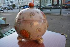 Dümler und Breiden HöhrGrenzhausen art deco gr. Bowle 4l  original antik Keramik