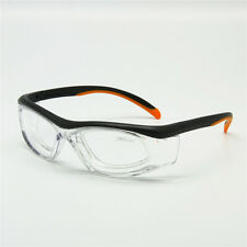 Sports Glasses with Detachable Rx Insert Safety Goggles Anti-Static Lab Use
