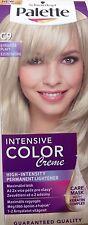 C 9 Schwarzkopf Palette Color Creme Permanent Hair Dye Colour Platinum Silver
