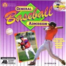 Microleague Baseball 4 PC CD General Admission manage pro MLB team players game!