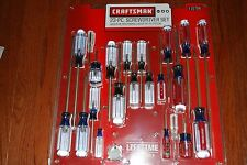 Craftsman 23 pc.Screwdriver Set with Phillips, Torx®, Slotted NEW  MADE IN USA