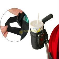 Baby Stroller Insulated Cup Holder Drink Phone Holder Pram Straw Organizer Bag
