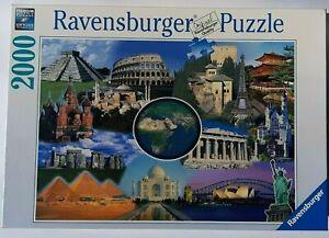 RAVENSBURGER. NEW WONDERS OF THE WORLD. 2000 PCS. ITEM NR.16664.