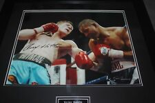 Ricky Hatton Autographed Framed Photograph 20.5 Inches By 20.5 Inches!